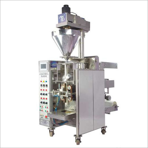 Pneumatic Collar Type Auger Filler (PLC Based)