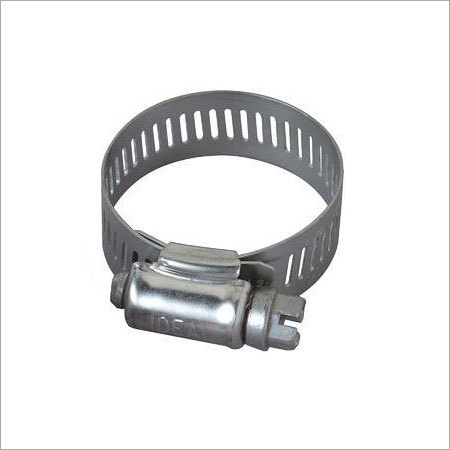 Stainless Steel Perforated Hose Clip