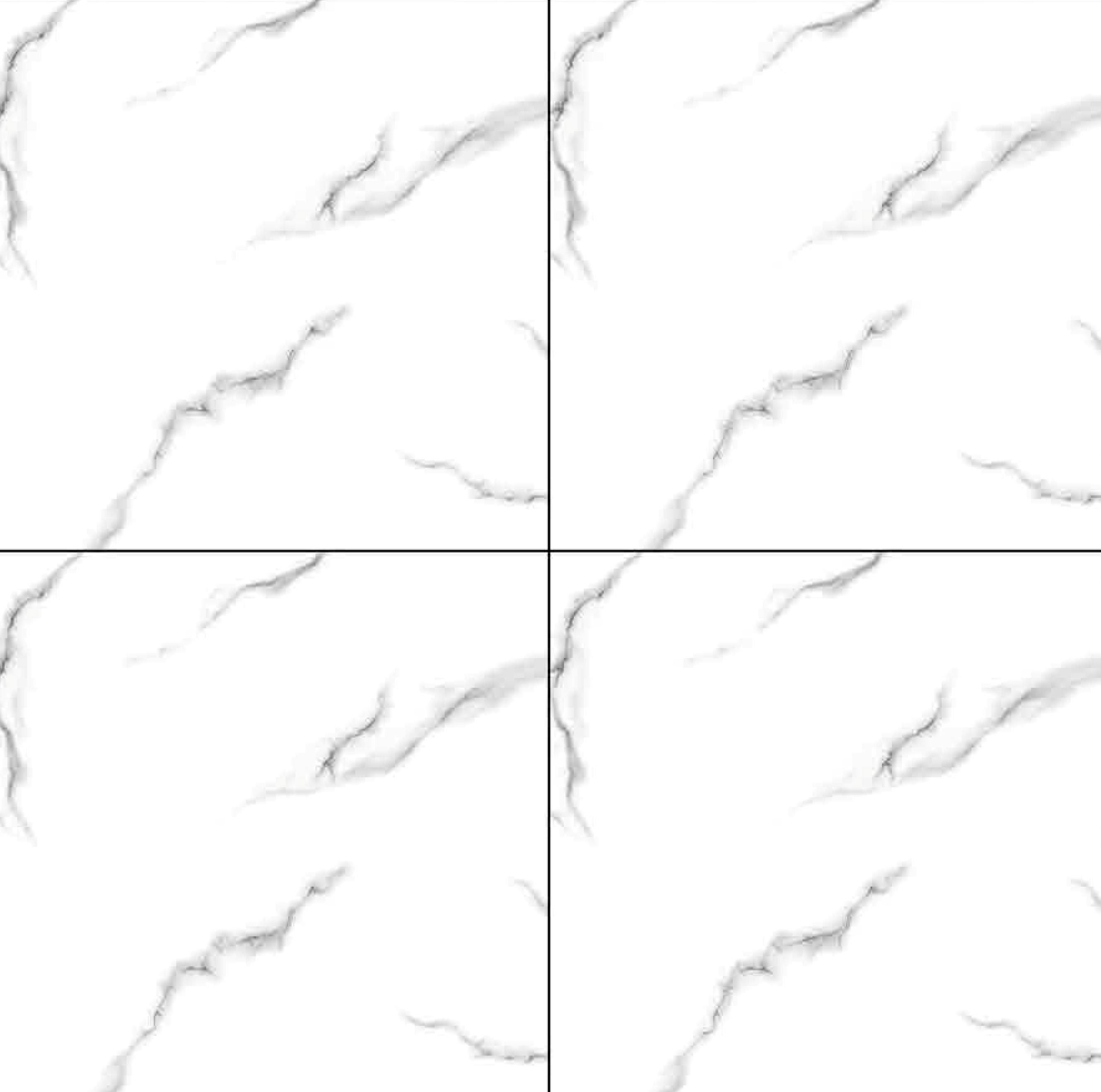 Glossy Ceramic Floor Tiles 396x396 MM
