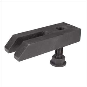 Adjustable Support Tapped End Clamp