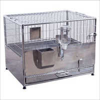 Stainless Steel Rabbit Cage