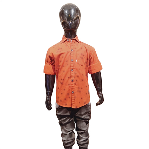 Kids Fancy Printed Shirt
