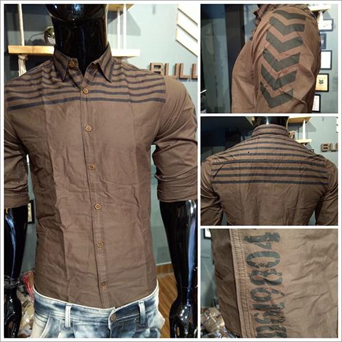 Mens Designer Printed Shirt