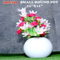Small Round Pot 12x11 Inches