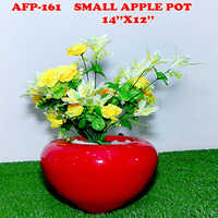 Small Apple Pot 14x12 Inches