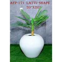 Lattu Shape Pot 20x20 Inches