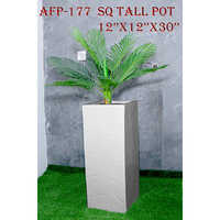 Square Tall Pot 12x12x30 Inches