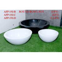 Round Bowl Pot