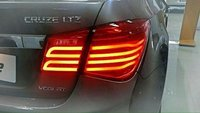 Glossy Car Cruze Tail Light
