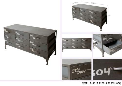 9 DRAWER CHEST