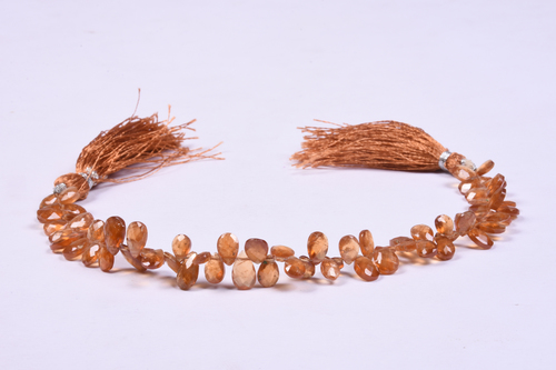 Brown Hessonite Garnet Layout Beads