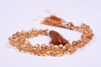 Hessonite Garnet Briolette Beads