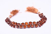 Brown Hessonite Garnet Briolette Layout Beads