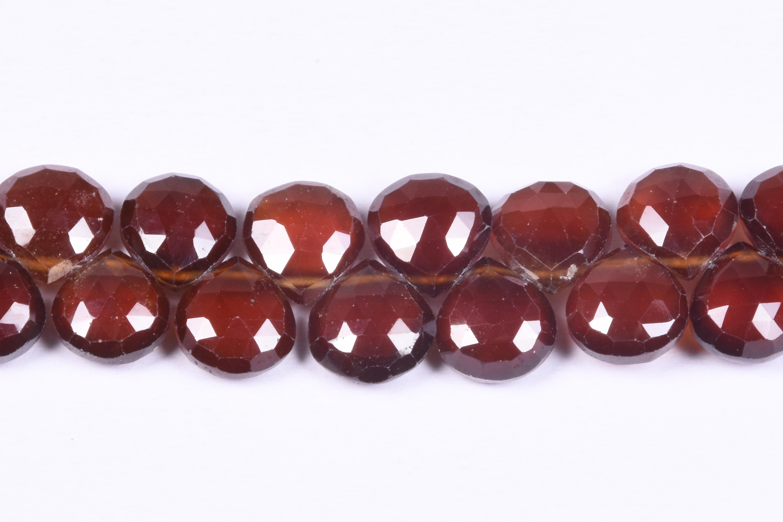 Brown Hessonite Garnet Briolette Layout Beads