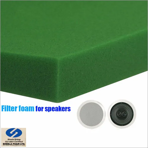Filter Foam for Speakers