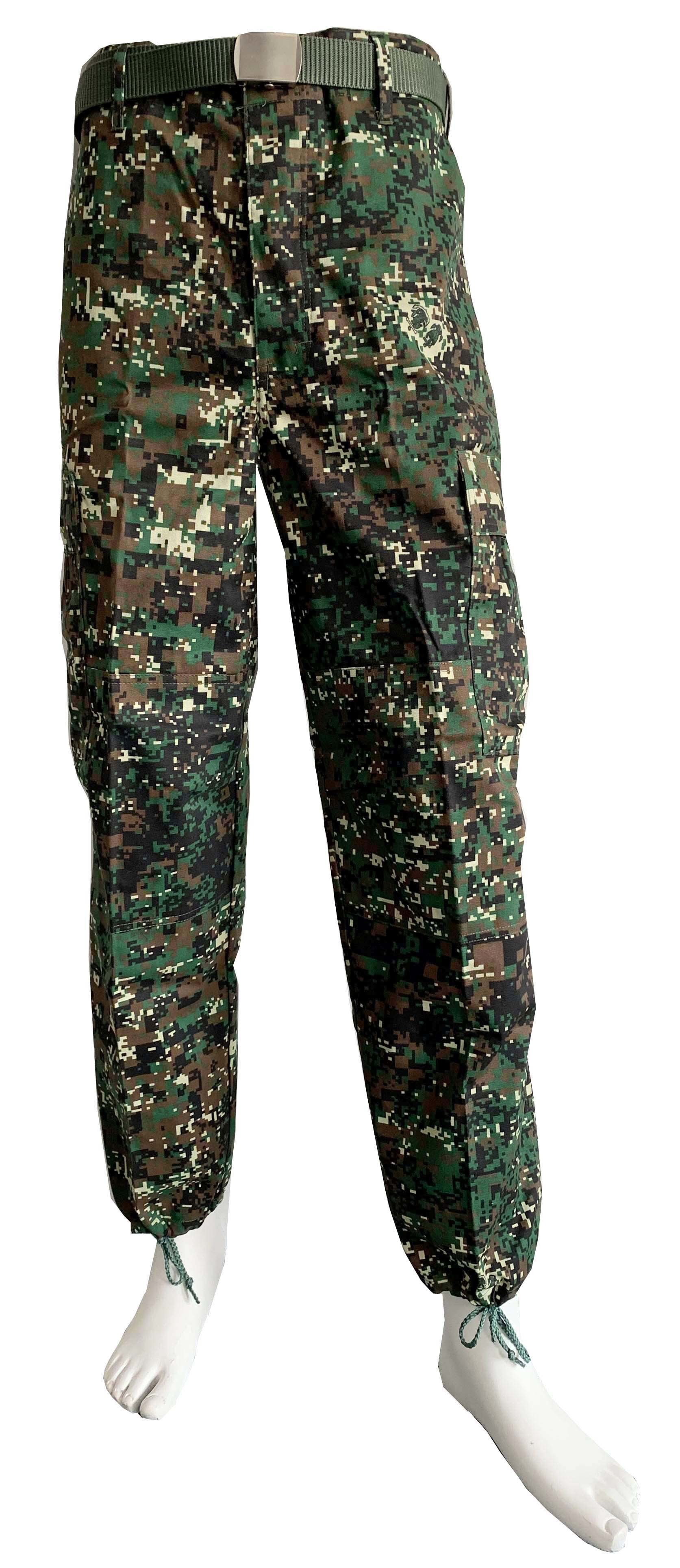 Philippines Army Marine Digital Camouflage Military Uniform