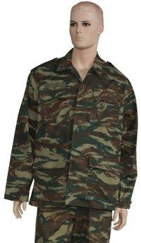 Greece Army Anti IRR Military Camouflage BDU Uniform