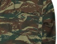 Greece Army Anti IRR Military Camouflage BDU Uniform