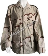 Military Desert Camouflage Battle Dress Uniform