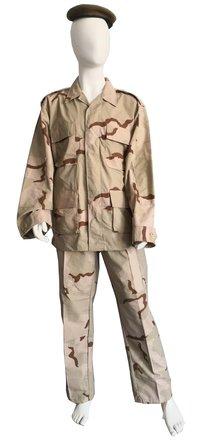 Military Desert Camouflage Battle Dress Uniform