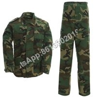 Army Woodland Camouflage Battle Dress Uniform