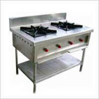 SS Commercial 2 Burner Gas Range