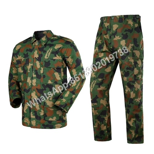 Nigeria Army Camouflage Battle Dress Military BDU Uniform