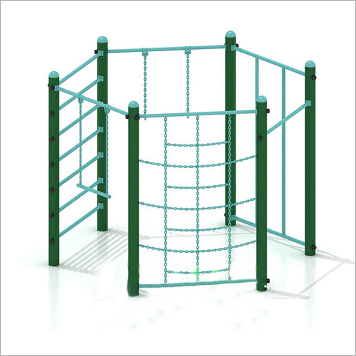Hexagonal Shaped Parallel Monkey Bar