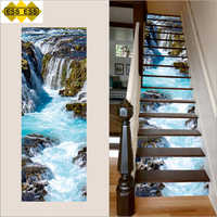3D Angel Falls Stair Tiles