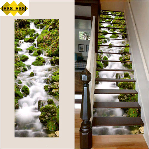 3D Green River Stair Tiles