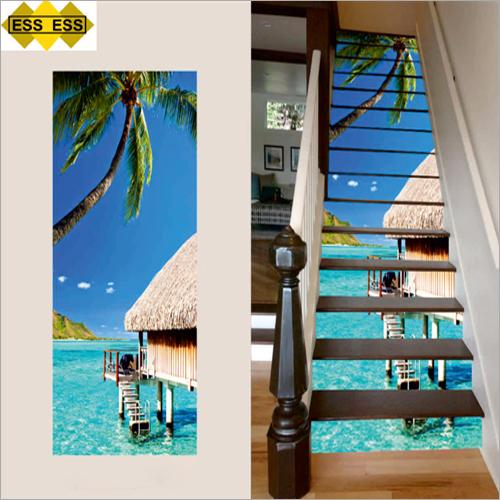 3D Coconut House Stair Tiles
