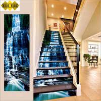 3D Gocta Falls Stair Tiles