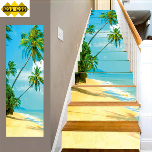 3D Himara Beach Stair Tiles