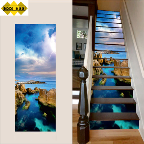 3D Ostand Beach Stair Tiles