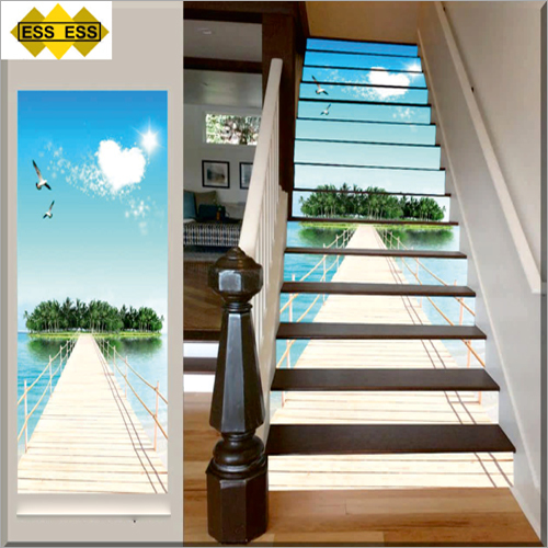 3D Palolem Beach Stair Tiles