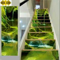 3D Pretty River Stair Tiles