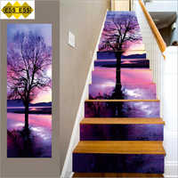 3D Linden Tree Stair Tiles