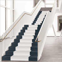 White Step Stair Tiles