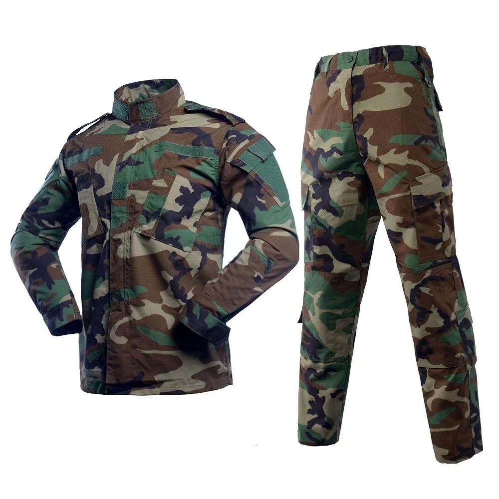 Military Woodland Camouflage ACU Uniform