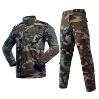 Military Woodland Camouflage ACU Uniform
