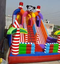 MIcky Mouse Sliding Bouncy Castle