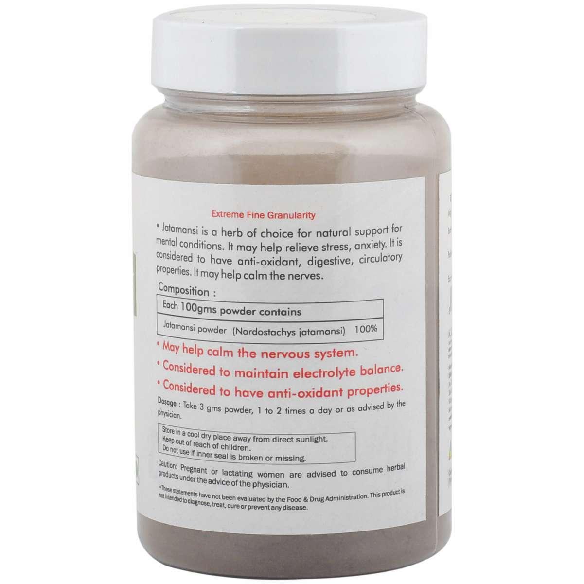 Ayurvedic Jatamansi Powder 100gm for Memory support brain tonic (Pack of 2)