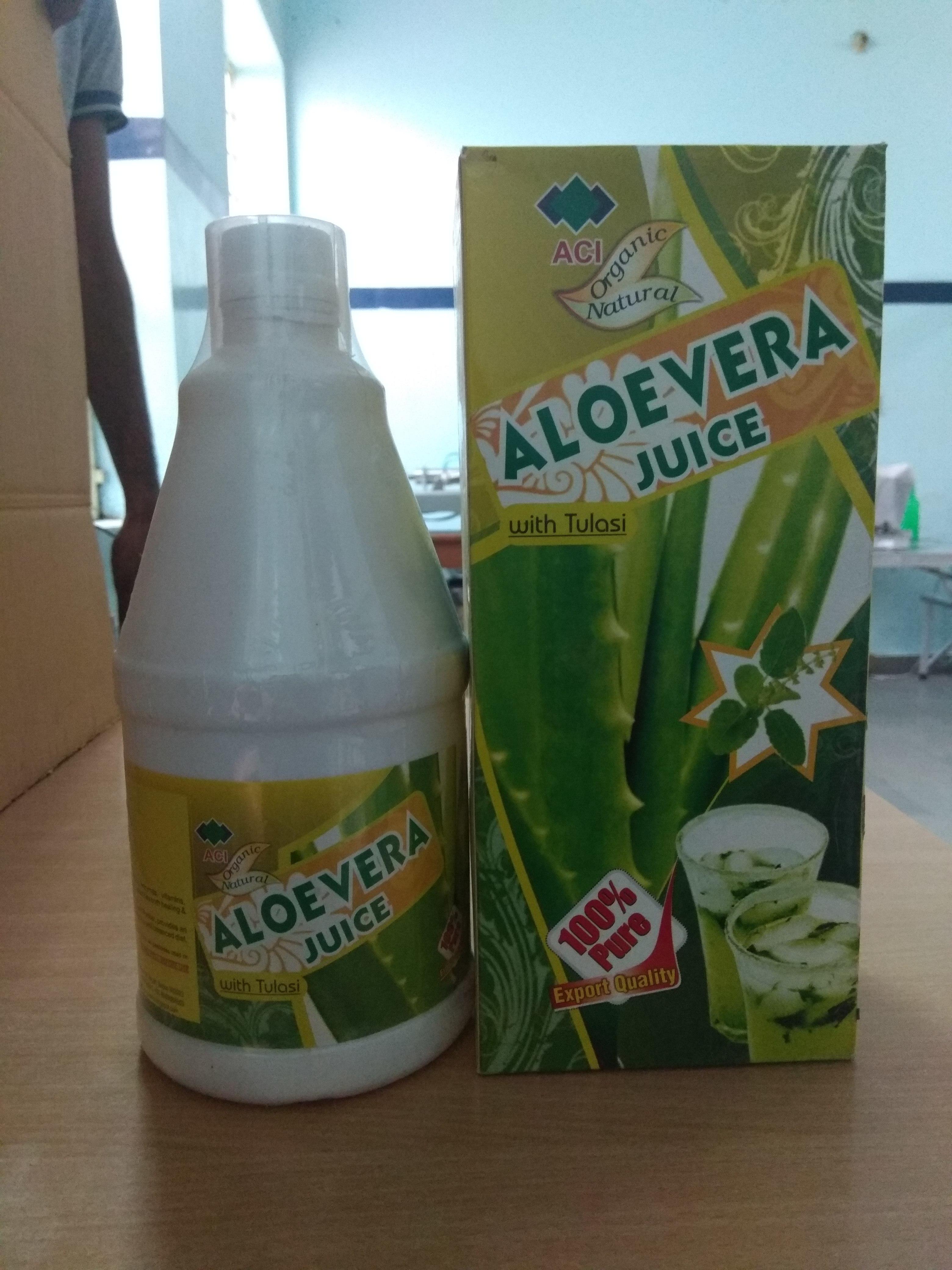 Aloe vera Juice With Tulsi