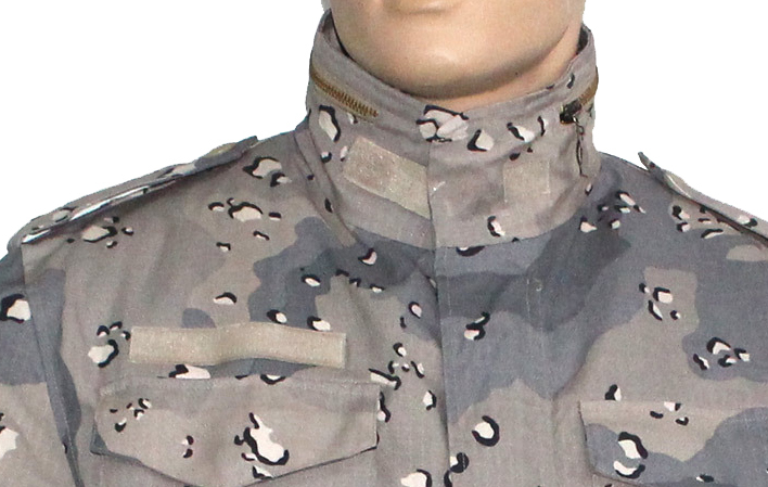 Military Digital Camouflage Ripstop Combat Jacket