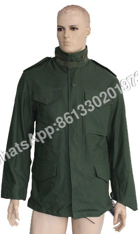 Army Olive Green Military Field Jacket