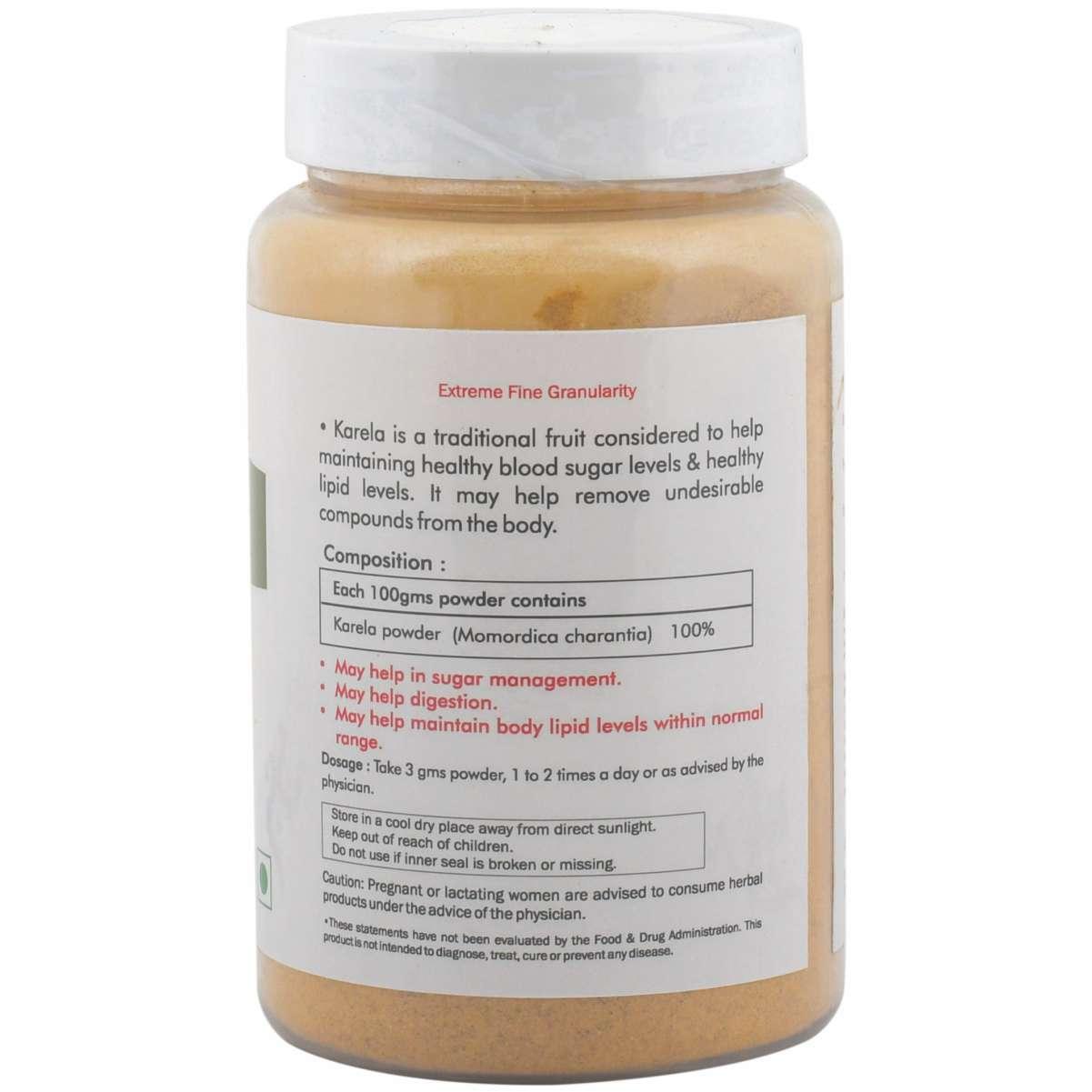 Ayurvedic karela Powder 100gm for Blood sugar control (Pack of 2)