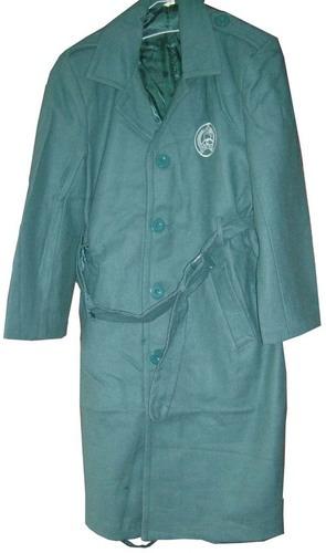 Police Wool Overcoat Design Great Coat