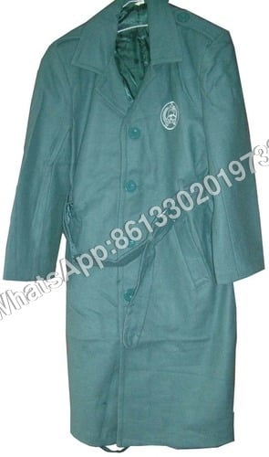Navy Military Green Khaki As Per Buyer Police Wool Overcoat Design Great Coat