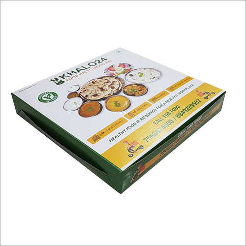 Square Food Packaging Box