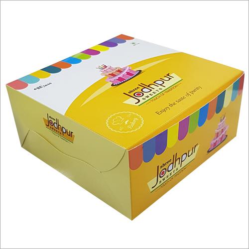 蛋糕包装的箱子